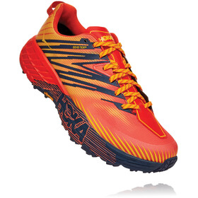 Hoka One One Speedgoat 4 GTX Schoenen Heren, mandarin red/gold fusion